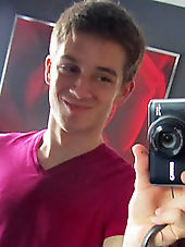 Hot closet gay exposed on webcam