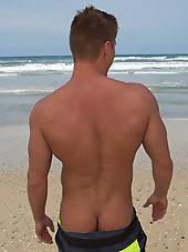 Collin muscular blond stud