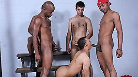 Intrigue, Marquez, Blaze, Brooklyn and Mr. Young Gun