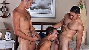 Dorian Black, Miguel Temon and Christian Rock