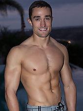 Muscular Hunk Walker