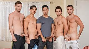 My Neighbour's Son Part Four - Rafael Alencar Dylan Knight - Jack Radley - Zac Stevens and Johnny Rapid