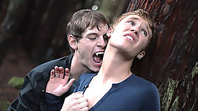 Innocent twink spiraling down in the world of a dominating vampire