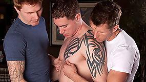Zack O'Malley, Jason Mitchell and Kirby Thomas