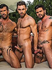 James Castle - Adam Killian - Mario Domenech | Raw Threesome
