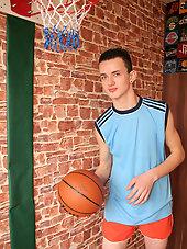 After basket ball wank