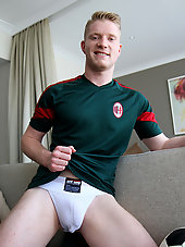 Jake Jensen's hot strip tease at BentleyRace