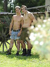 Michal Herak and Artur Lafek