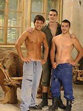 Ruslan, Erik, Arthur