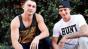 Johnny and Brad Davis