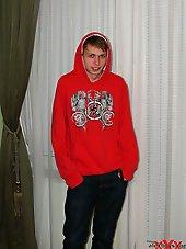 Horny slim russian gay teen boy
