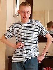 Hot blonde skinny Gay Teen Boy