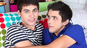 Brenan & Lucas flirts for the sake of having hard and restless erections