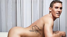 Brent Alex Rides Cam Christou's Raw Cock
