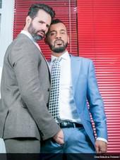Office Voyeur with Dani Robles & Thomas Thunder