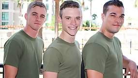 Ryan Jordan, Princeton Price and Scott Finn